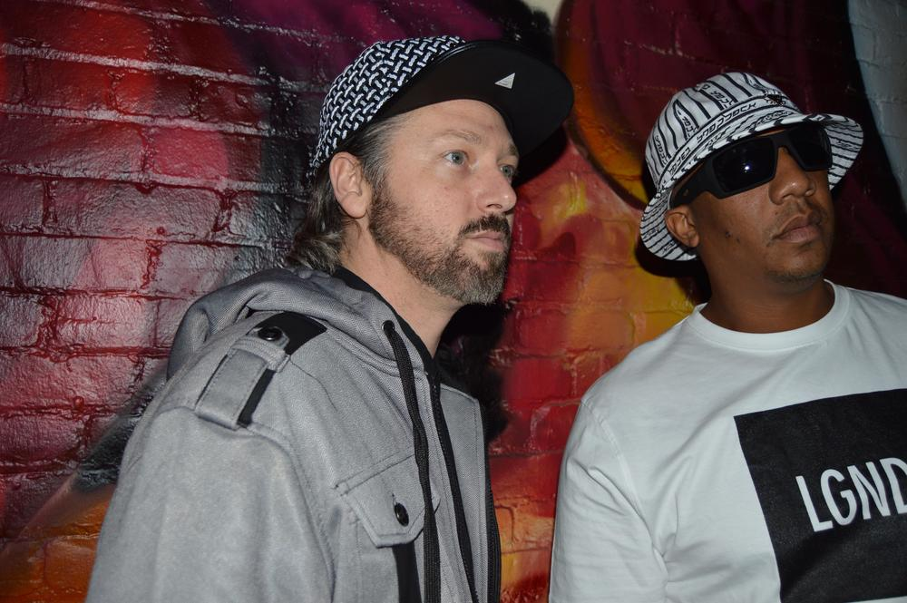 FlexUp Crew members Two Seven Clash: Alex Brietman (L) and Kimory Stevenson (R).