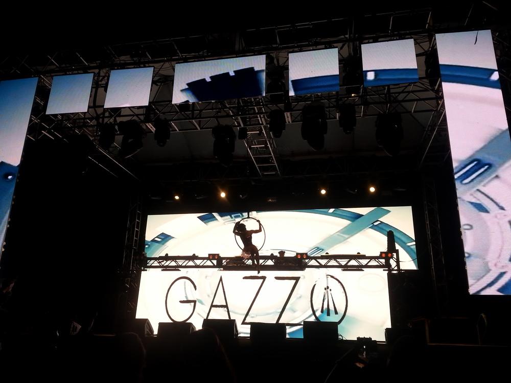 Gazzo Performing Live