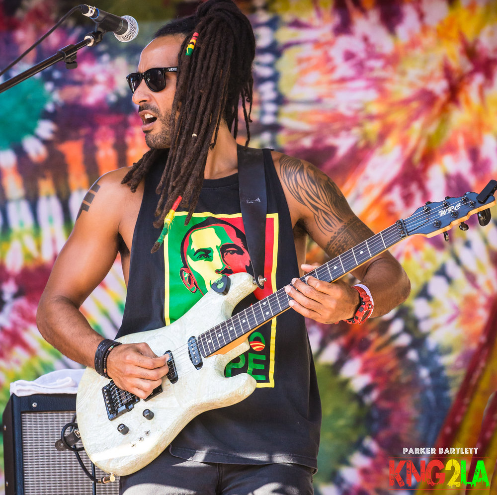 Steel Pulse guitarist David Elecciri