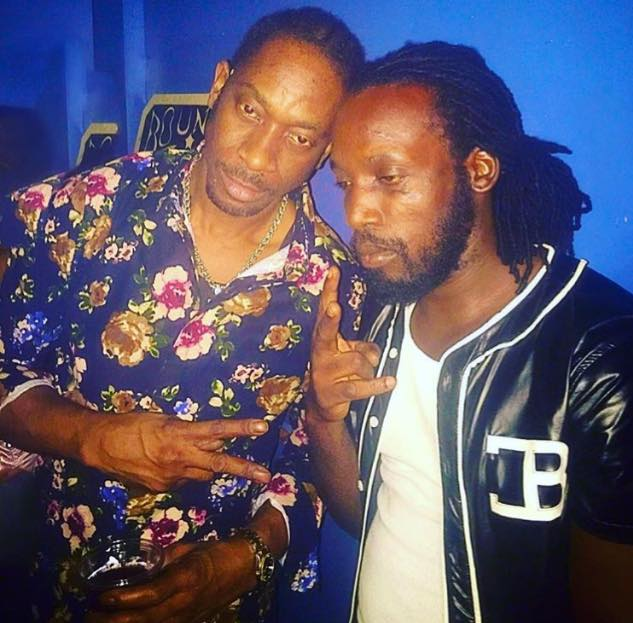"Mavado recently displayed the peace he has made with Bounty Killa, pictured here, captioning this photo ""Unity leads to Progress"" on his Facebook page."