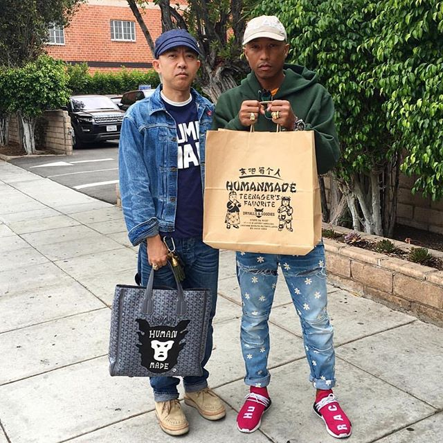 Photo Courtesy of @Pharrell & Instagram