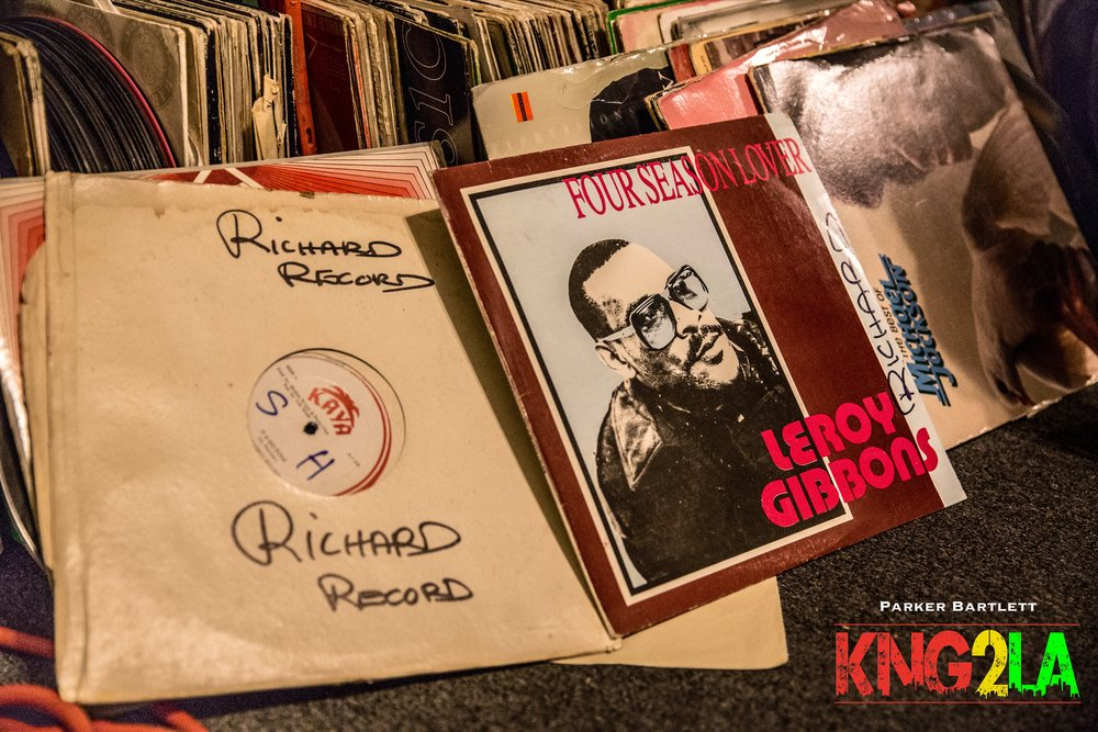 King Richard's extensive record collection is now part of the official collection of Kingston 12 HiFi.