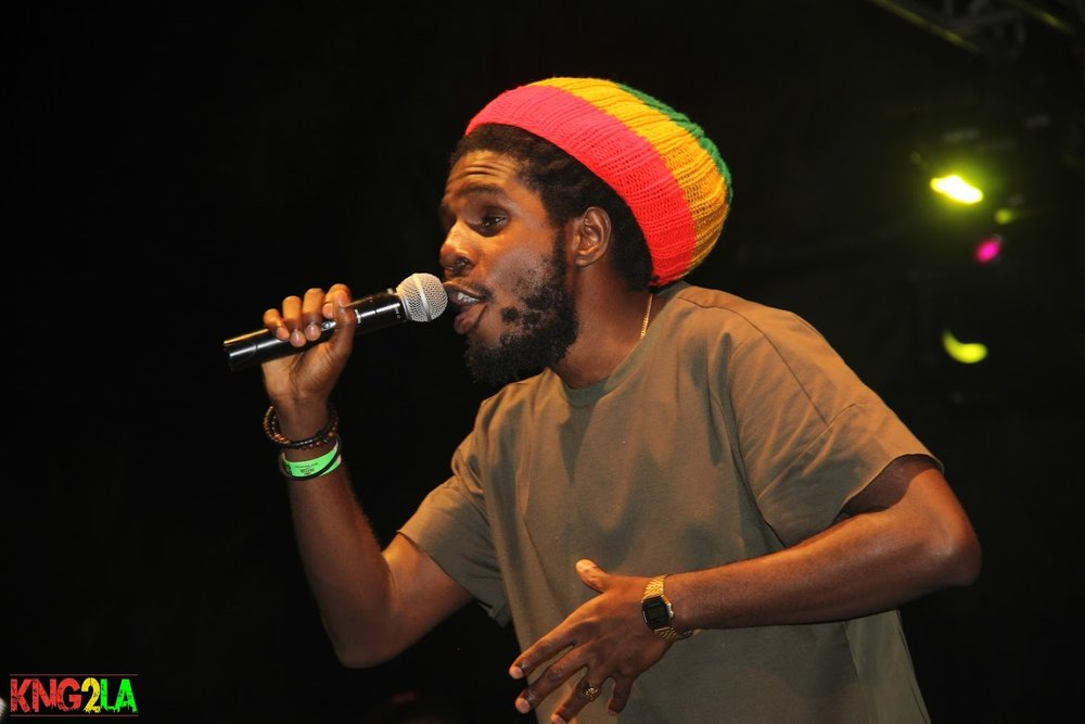 "Chronixx performing live at Third World's ""Under The Stars"" benefit."