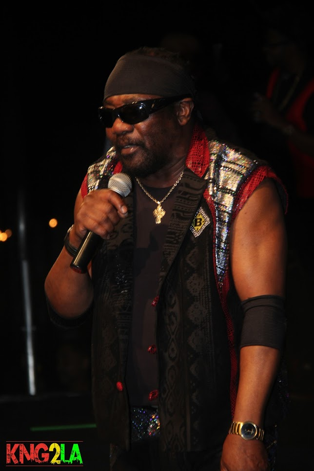 "Toots of Toots and The Maytals performing live at Third World's ""Under The Stars"" benefit."