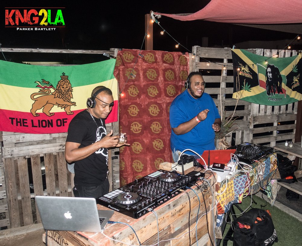 DJ Delano (Renaissance Sound) with guest DJ, DJ BIGGA.