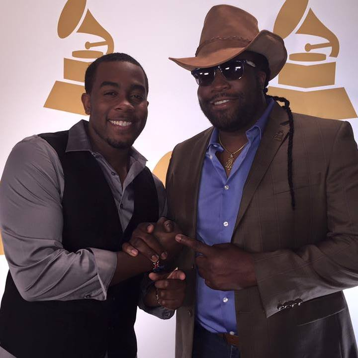 Jemere Morgan is the son of Morgan Heritage's Gramps Morgan. Photo source: Facebook.