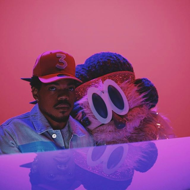 Image courtesy of Instagram and @chancetherapper