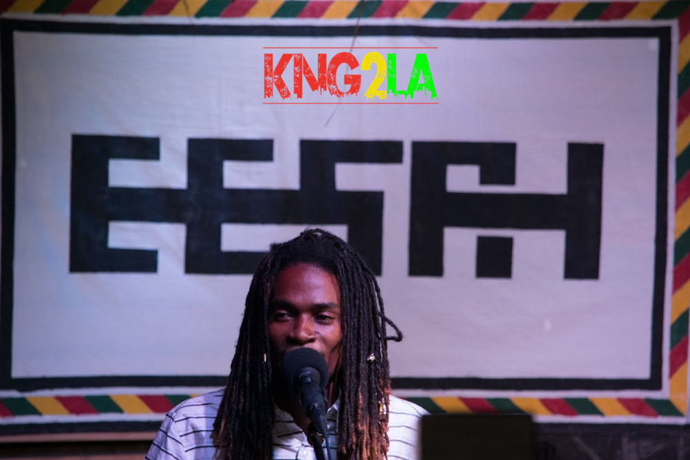 Eesah performing live at Stone's Throw in Kingston Jamaica, Reggae Month 2017.