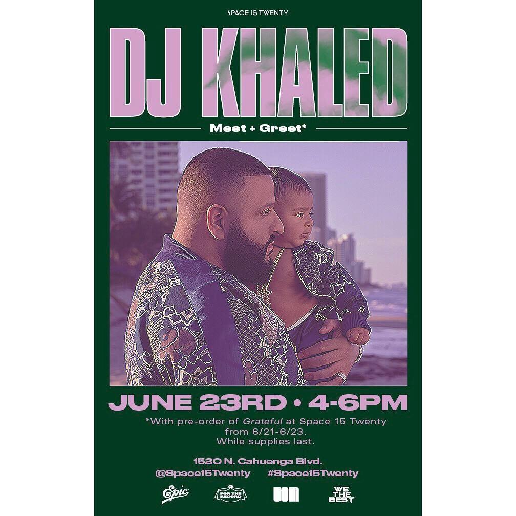 Dj khaled meet greet kingston to la reggae in los angeles dj khaled meet greet m4hsunfo