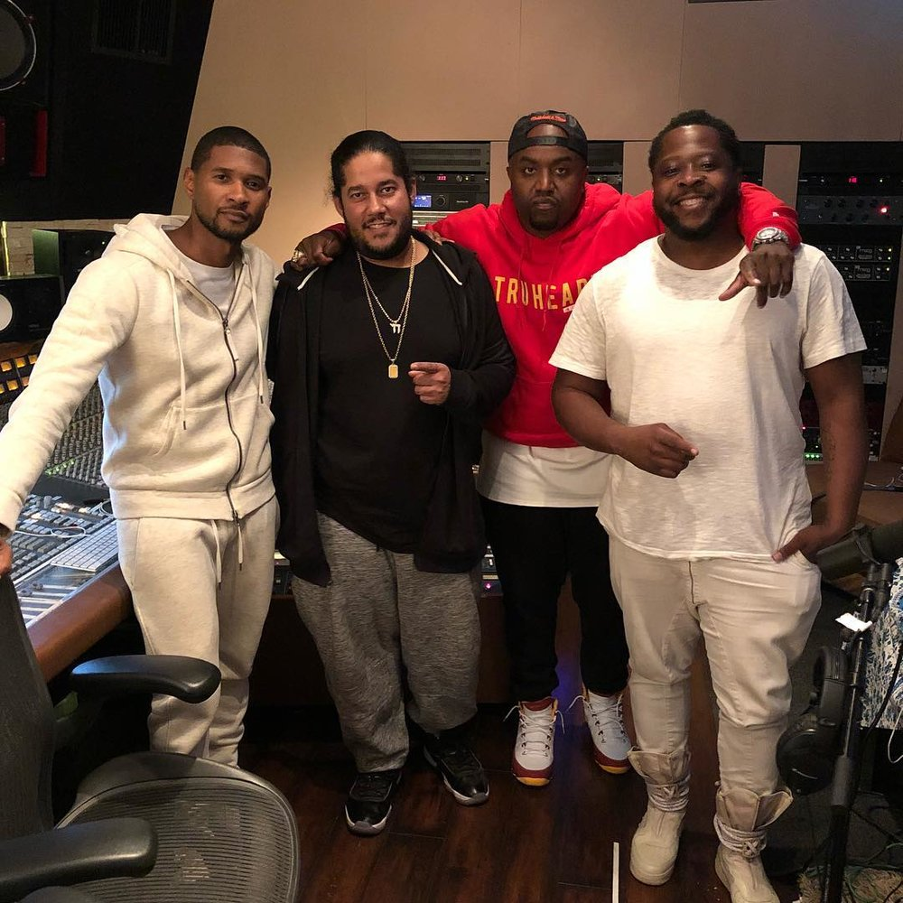 Follow on Instagram. From left to right:  @usher   @doncorleonie   @iamricolove   @dtownthagreat