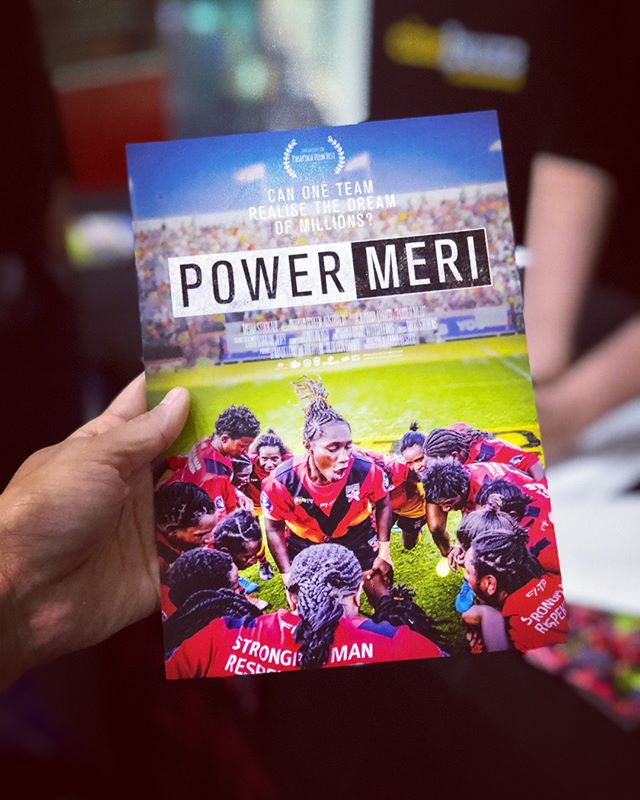Doco premiere time with our dear PNG wantoks. 🇵🇬 Loved shooting this journey of the PNG womens rugby league team with @mediastockade @powermerifilm #thestoryboxes #papuanewguinea