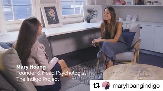 Loved working with you @maryhoangindigo #thestoryboxes 📽  #Repost @maryhoangindigo with @get_repost ・・・ 😬 About vulnerability 😬 having a chat here with Jessica Holsman about being in the public eye and the responsibility to be authentic about the fucked up bits of our journey (and not just #grateful all the time). Nobody likes being vulnerable, it's just necessary if we truly want to connect with each other. Thanks @studywithjess @thestoryboxes  For more check out mindfullseries.com