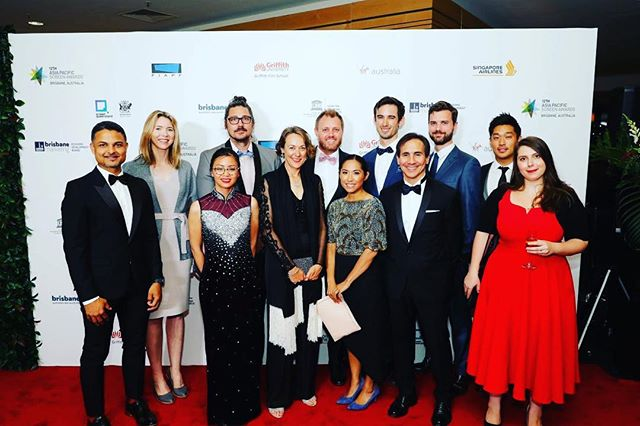 An incredible night celebrating the power of storytelling at the Asia Pacific Screen Awards. #thestoryboxes @apscreenawards