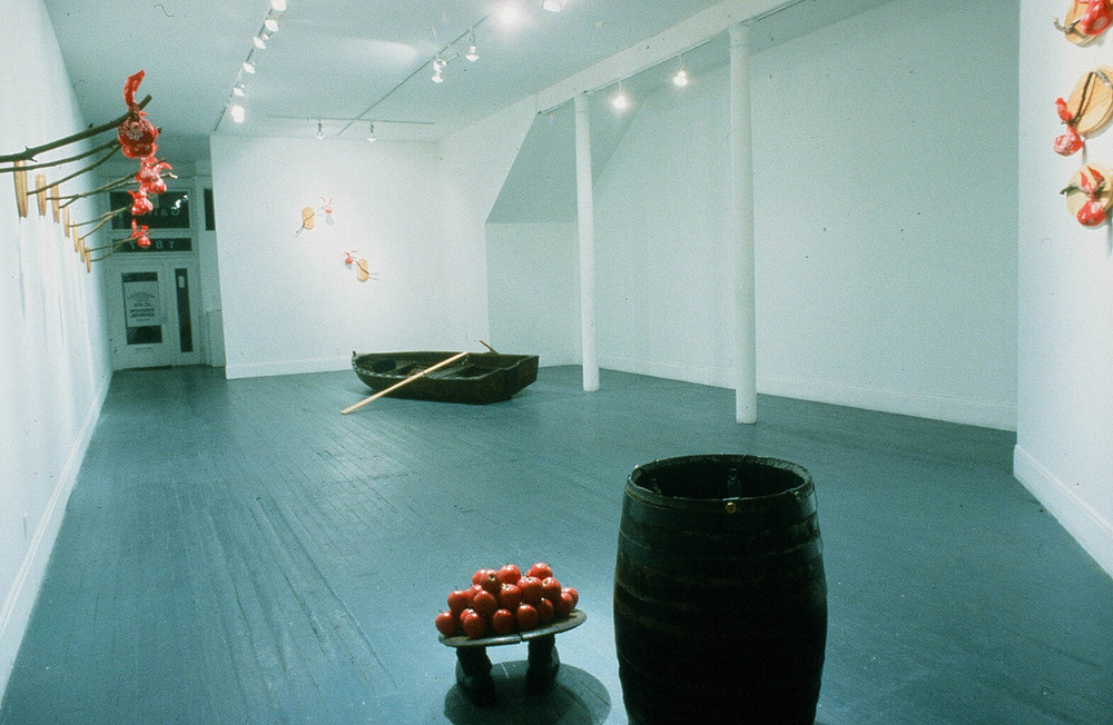 Stinkin' Lincoln, 1991 (installation view)