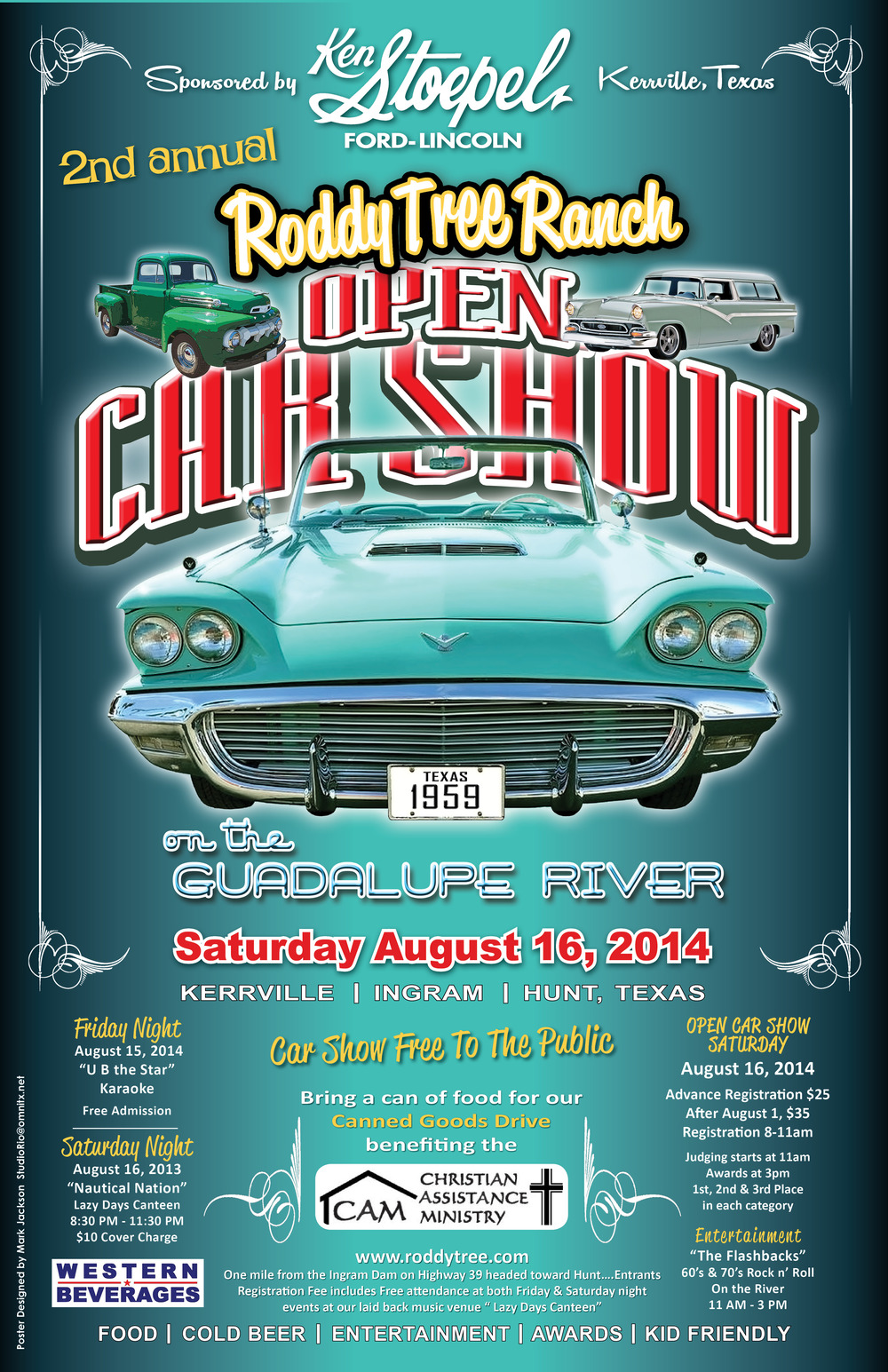 Roddy Tree Open Car Show Official Poster`14 (FINAL).jpg