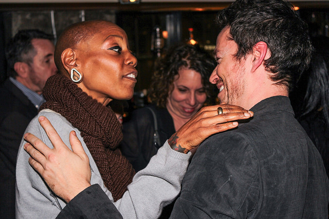 Debra WIlson and Simon Quarterman