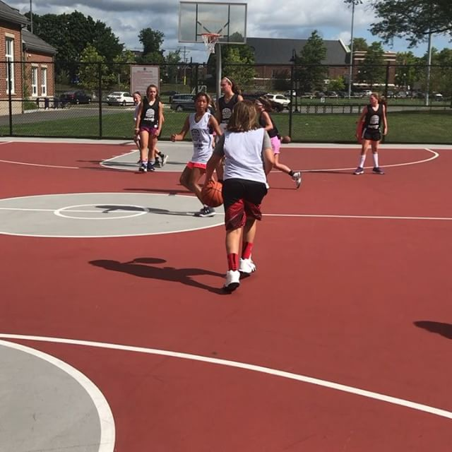 Check out a short video clip from this morning at our Black Top Basketball League at Galvin Middle School 🏀