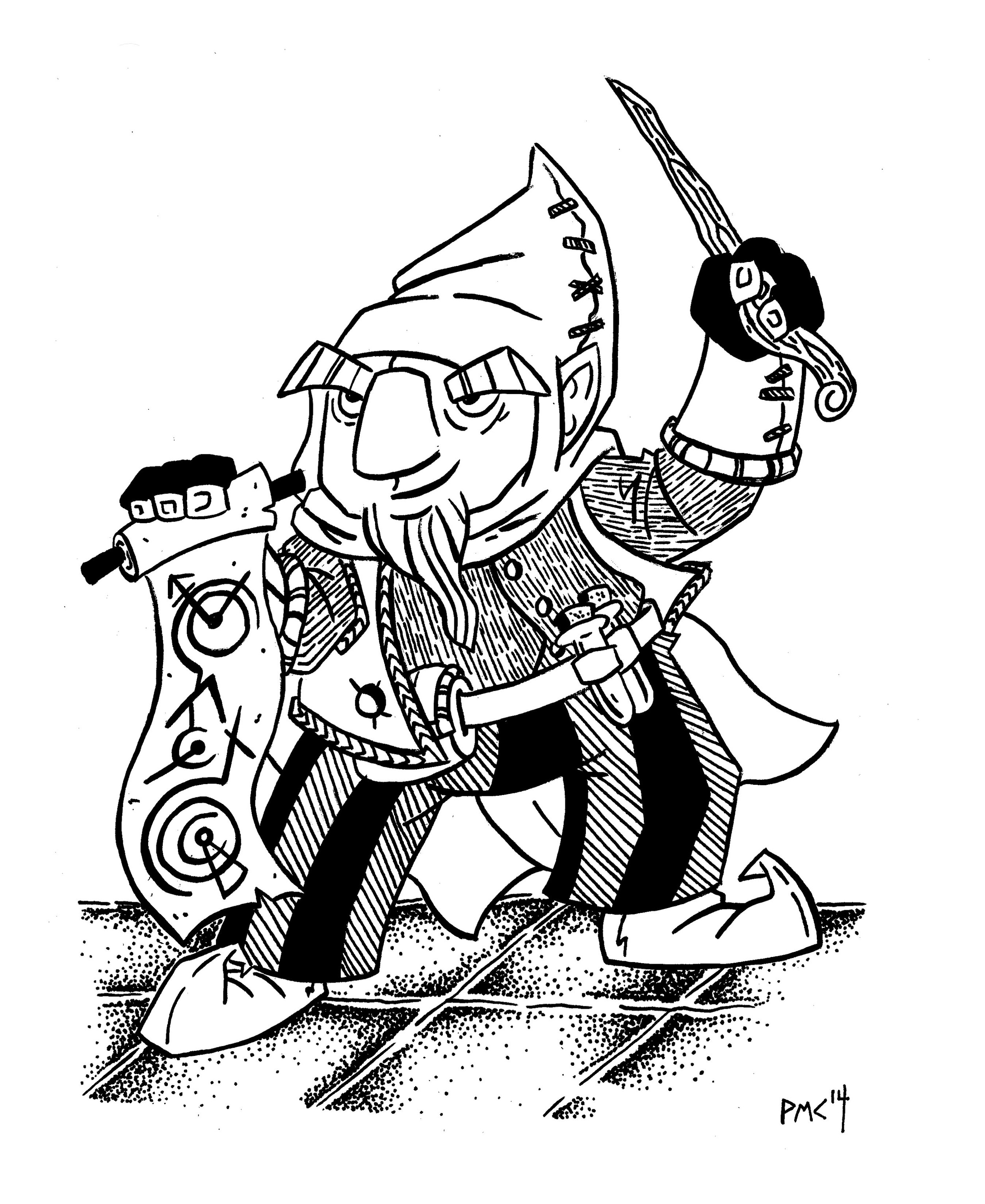 Gnome_Spell_Caster_inks