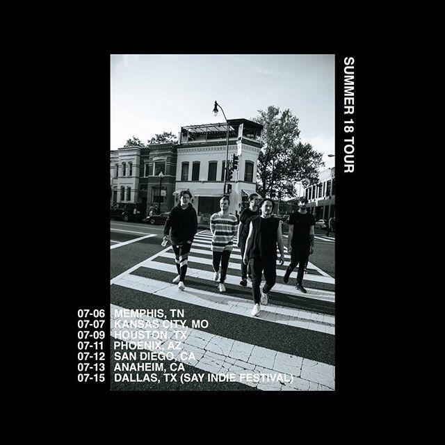 summer 18 tour -  details tomorrow