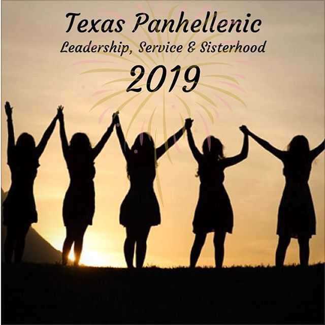 So much accomplished in 2018 and even more to accomplish this upcoming year in 2019!! Another year for progress, innovation, and support from the amazing women in our communities! 🤗🎉💪🏻#texaspanhellenic #newyears2019 #womenempowerment #womenleaders #2019goals