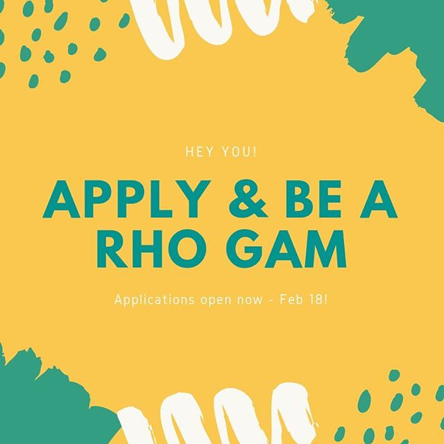 So excited to announce that the applications to be a Rho Gam are now open‼️ This is such an amazing opportunity to be on the other side of recruitment, so be sure to reach out to your chapter delegates with any questions! Link in bio, open until February 18th 🤗 #texaspanhellenic #recruitment #rhogam #womenleaders