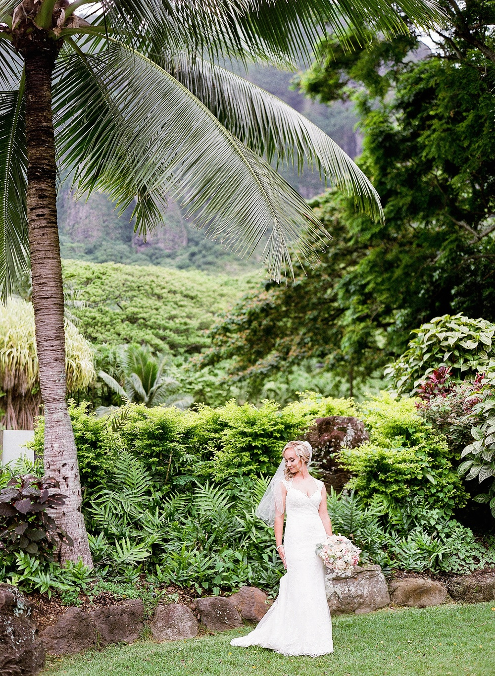 Kualoa Ranch Moli'i Garden Wedding