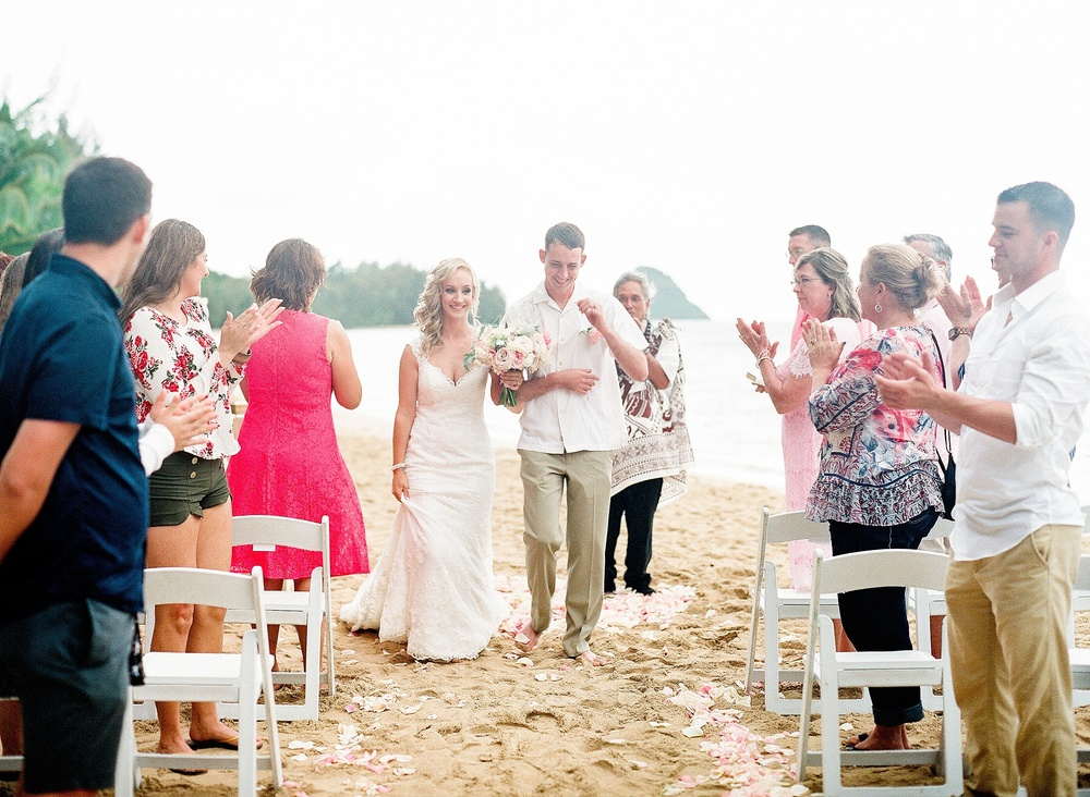 Kualoa Ranch Secret Island Wedding