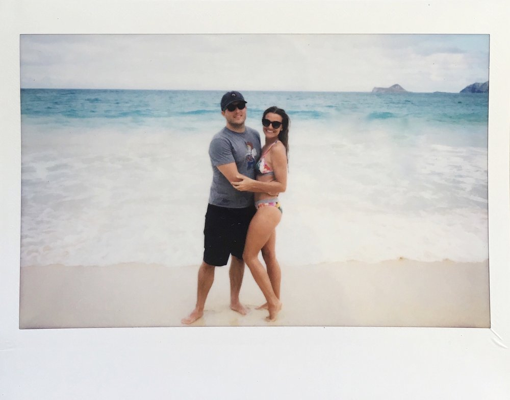 Hawaii Beach Polaroid