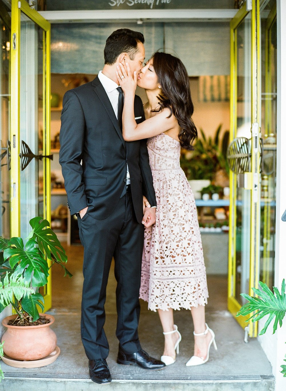 Paiko Honolulu Hawaii Engagement Photo