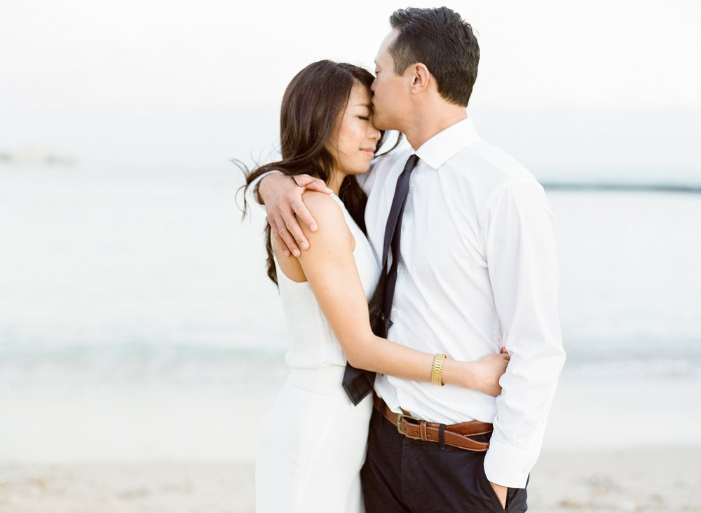 Waikiki Engagement Photo