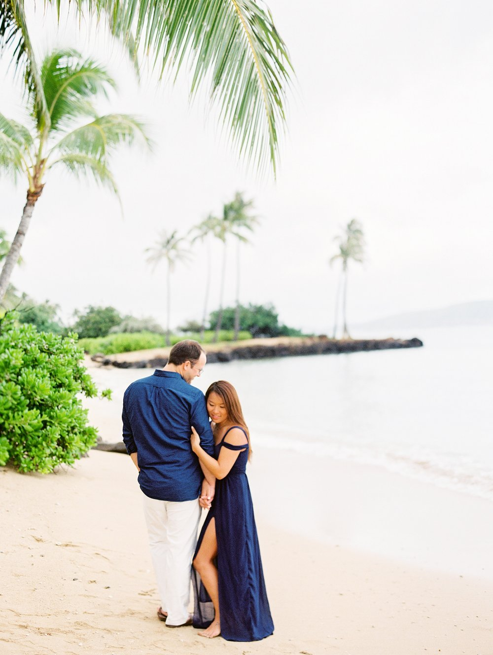 Kahala Waialea Beach Hawaii Engagement Photo_0001.jpg