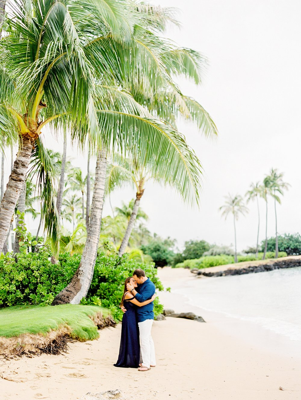 Kahala Waialea Beach Hawaii Engagement Photo_0004.jpg