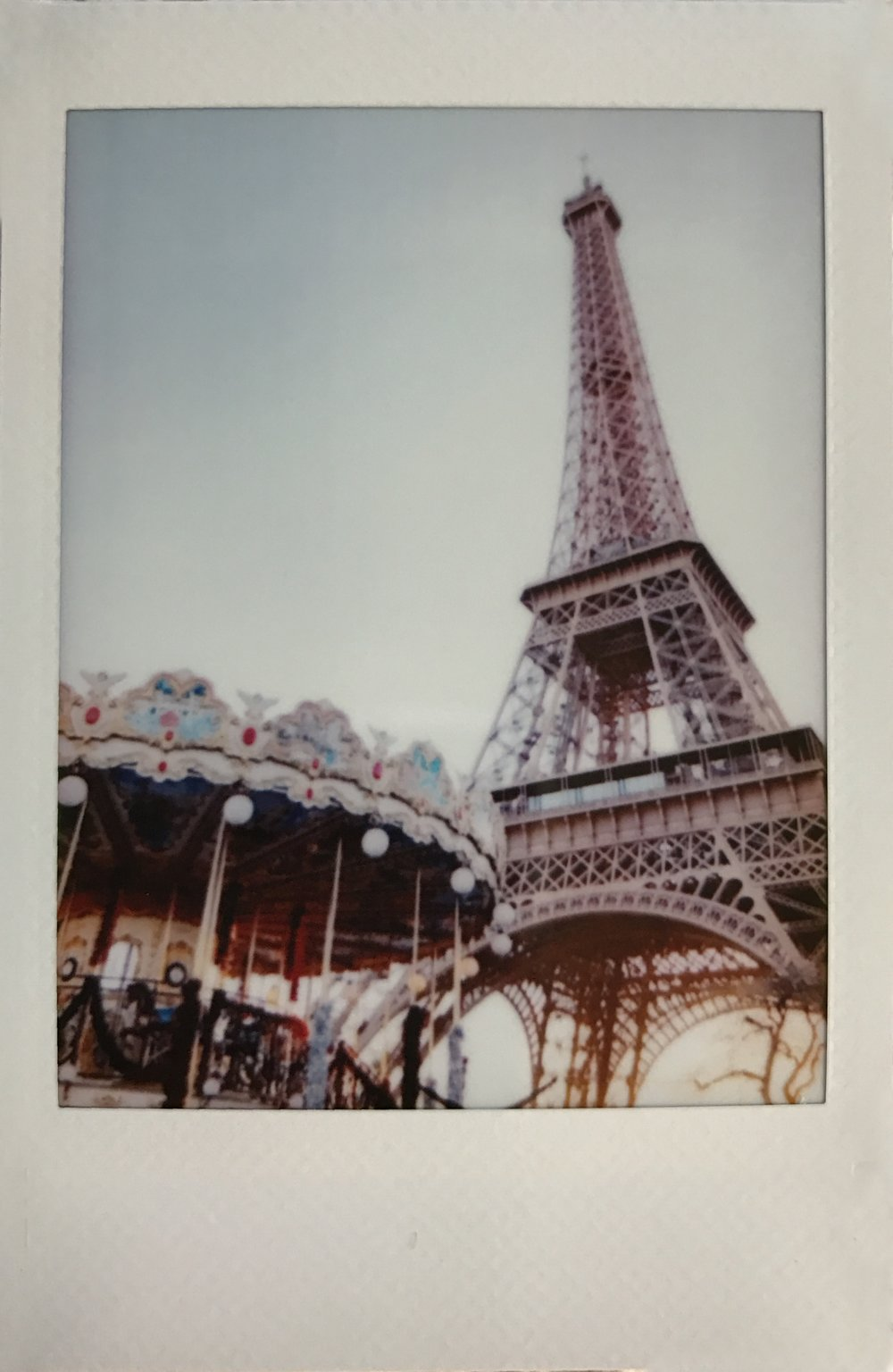 Eiffel Tower Carousel Polaroid by Ashley Goodwin.JPG