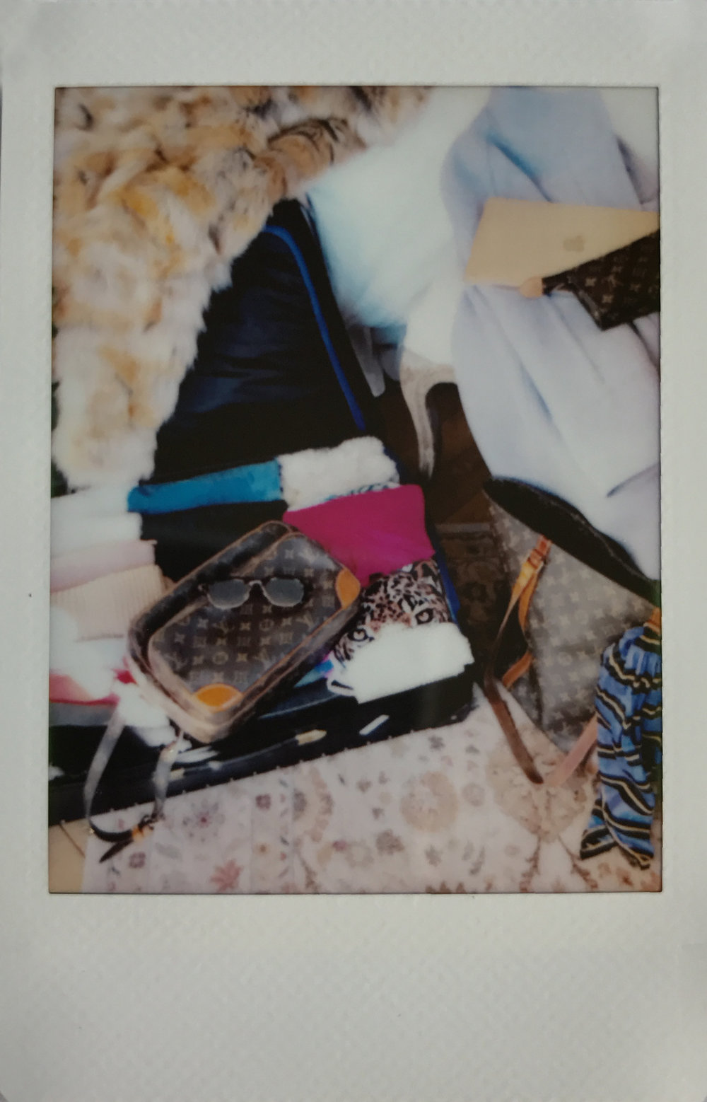 European Travel Wardrobe Polaroid Ashley Goodwin