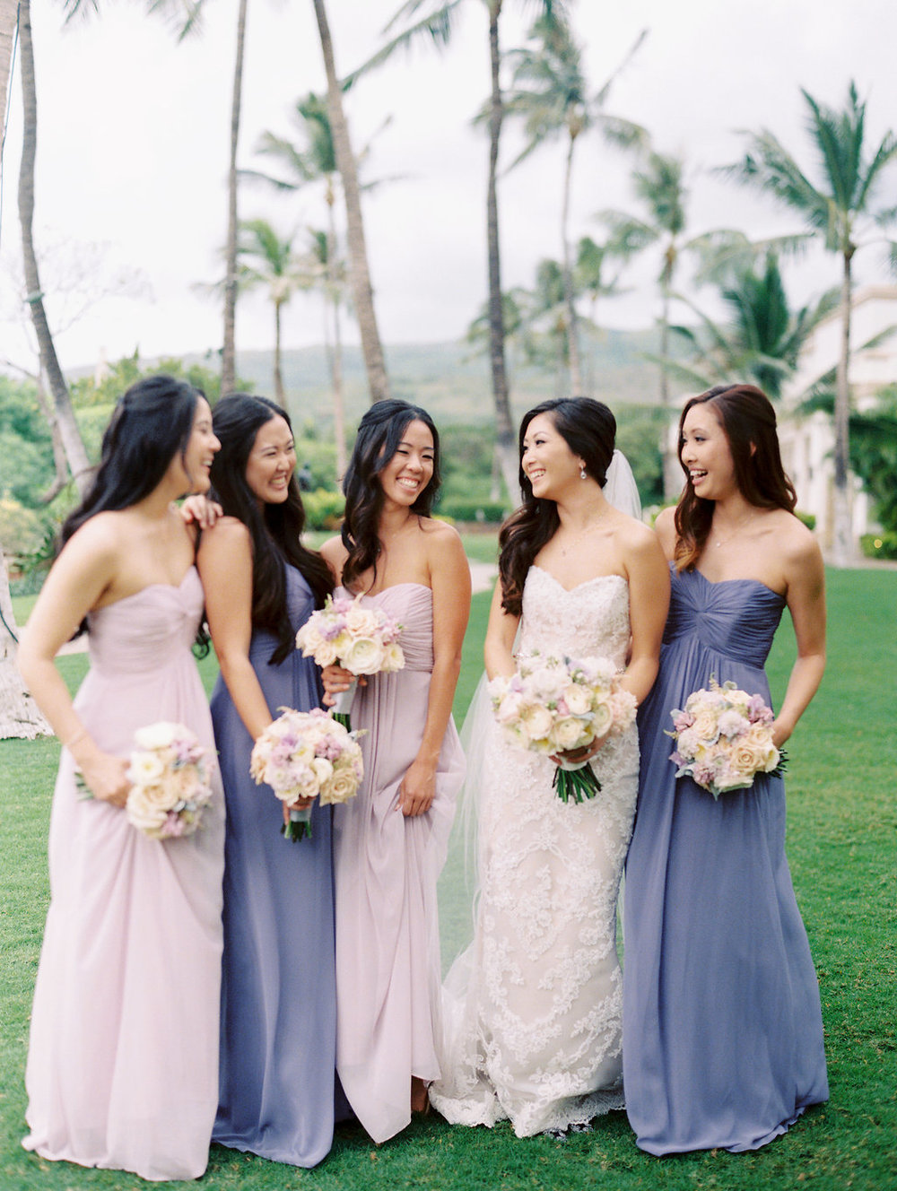 four-seasons-oahu-bridesmaids-pastel-dresses-purple.jpg
