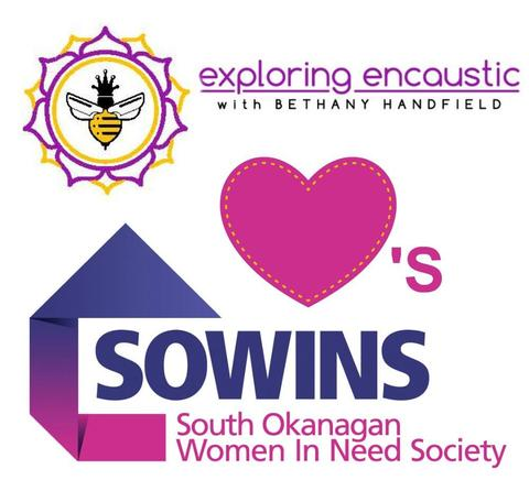 Encaustic loves SOWINS