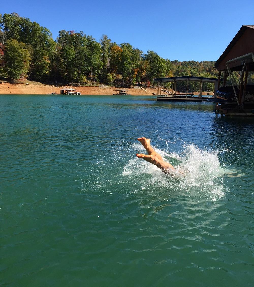 Photo taken at Norris Lake, Tennessee