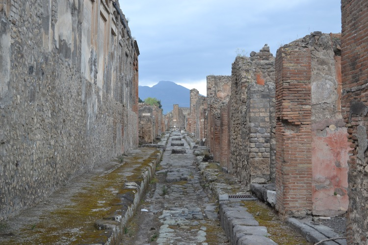 Photo taken in Pompeii, Italy