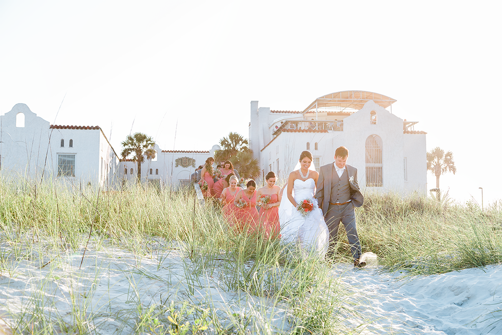 Wedding photographer in Jacksonville Beach, FL