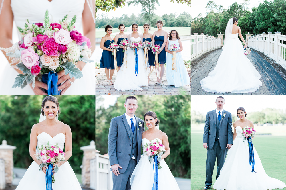 Wedding venue St.Johns Golf & Country Club | Bride and groom | Bridesmaids | Flowers