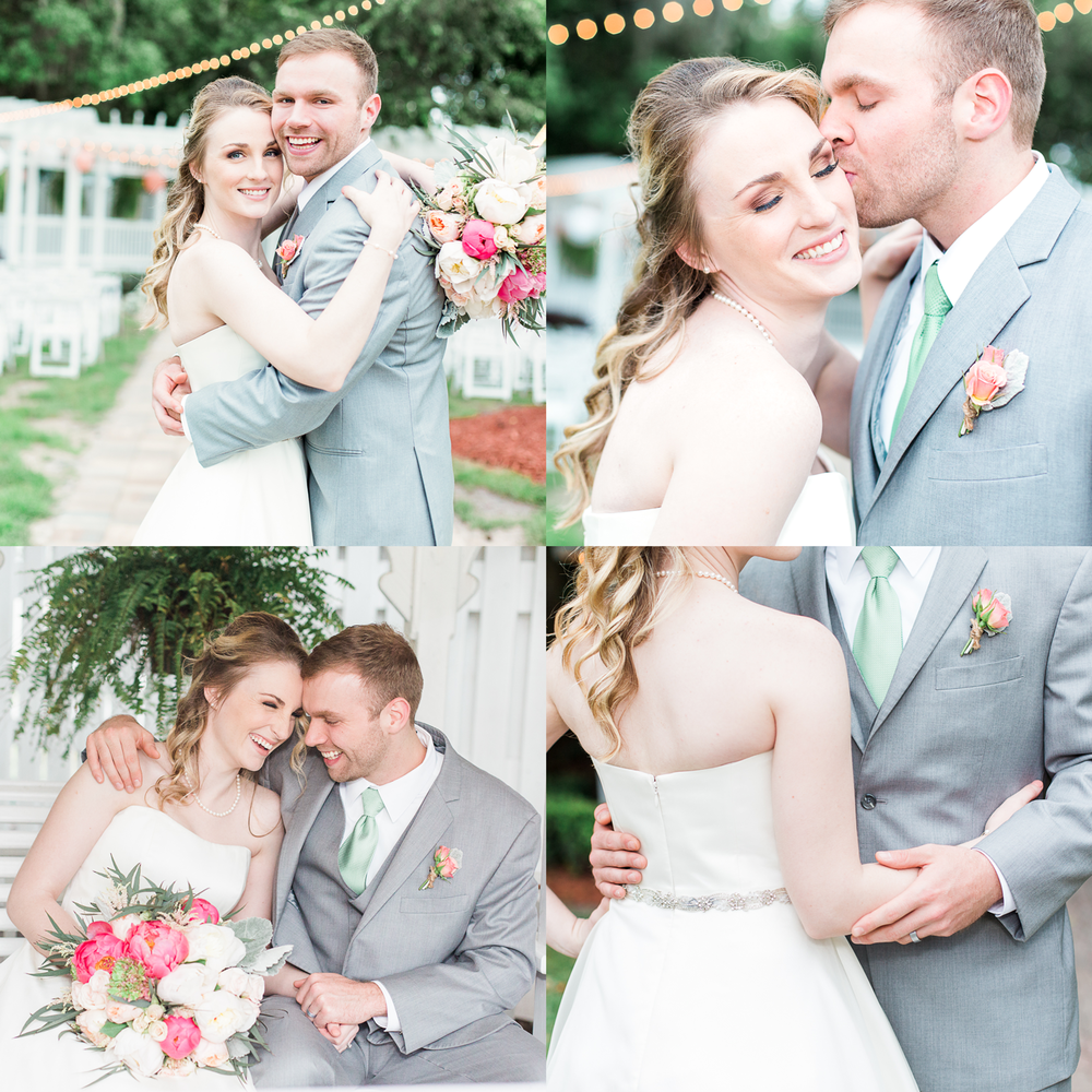 Wedding in Hilliard mansion, FL | Jacksonville, FL wedding photographer