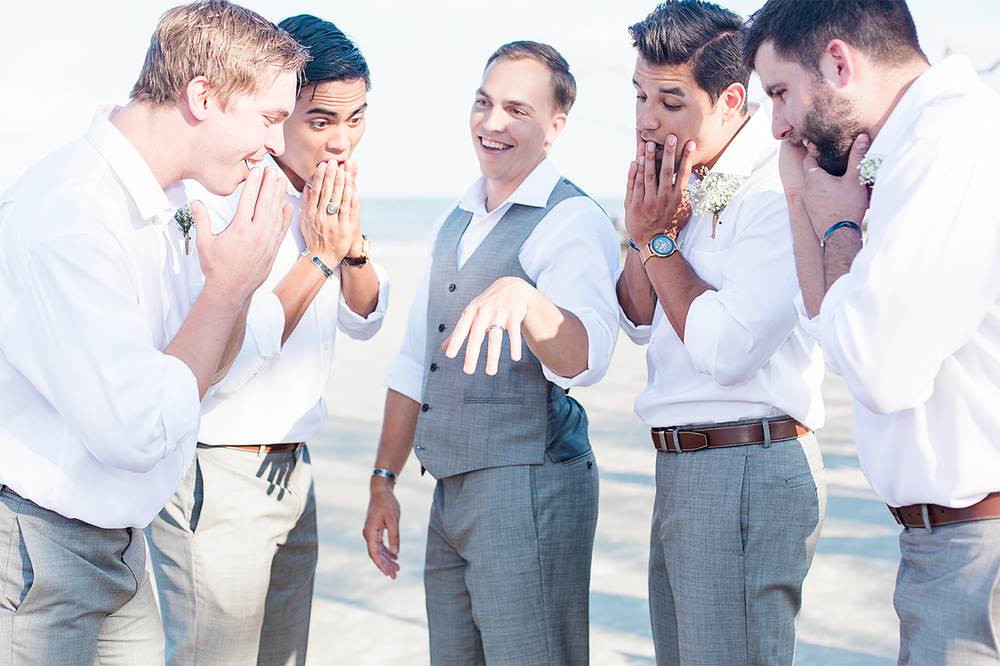 Groomsmen photo inspiration | wedding in Jekyll Island