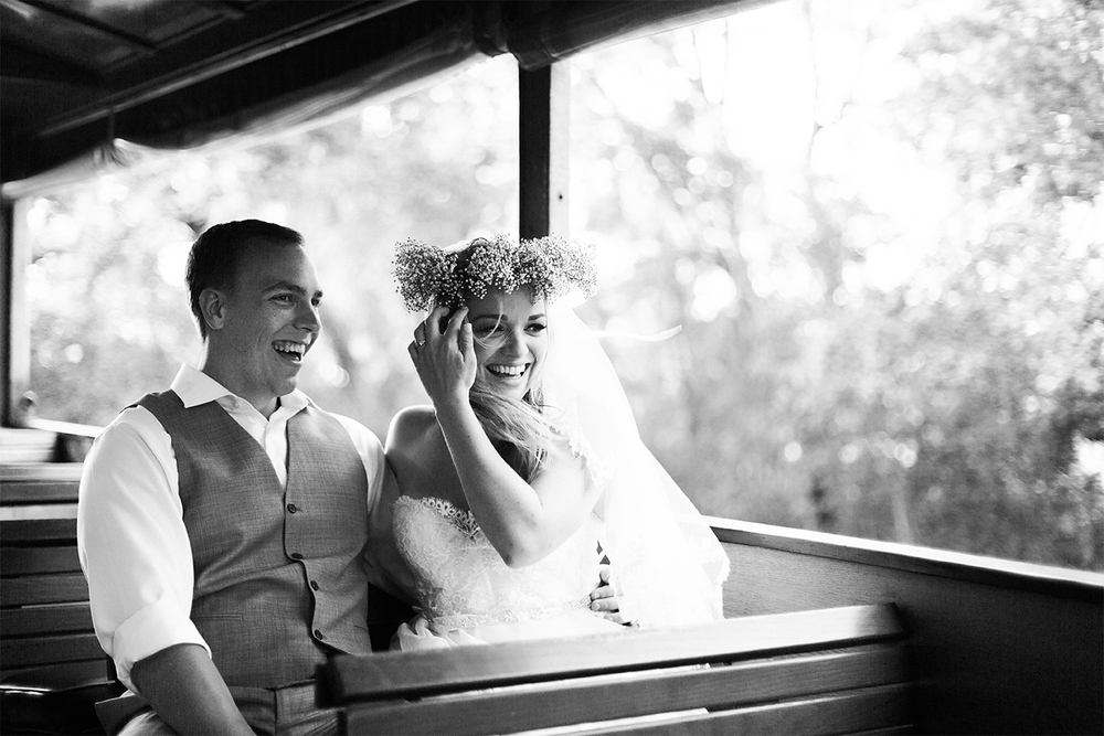 Bride and groom | Wedding in Driftwood Beach, Jekyll Island, GA | Maris Kirs Photography | Jacksonville, Ponte Vedra and St.Augustine wedding photographer