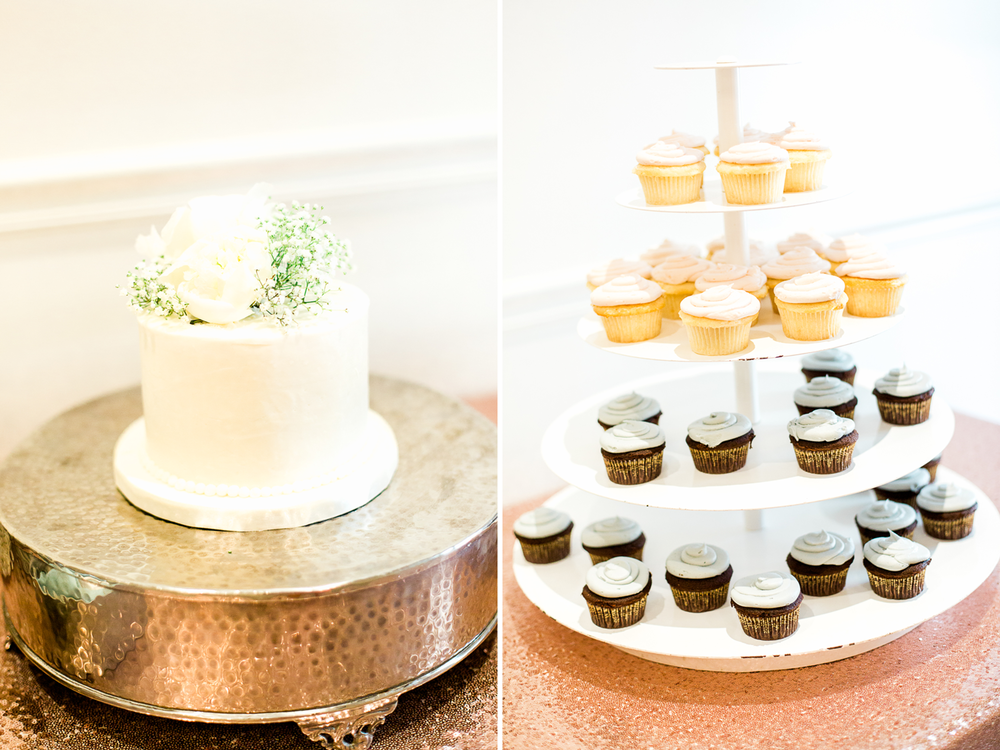 Wedding cake and cupcakes | Inspiration for wedding