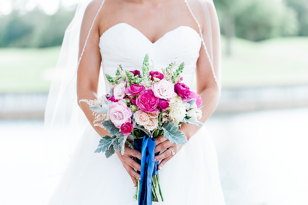 Bride's flower bouquet by Happily Ever After Floral