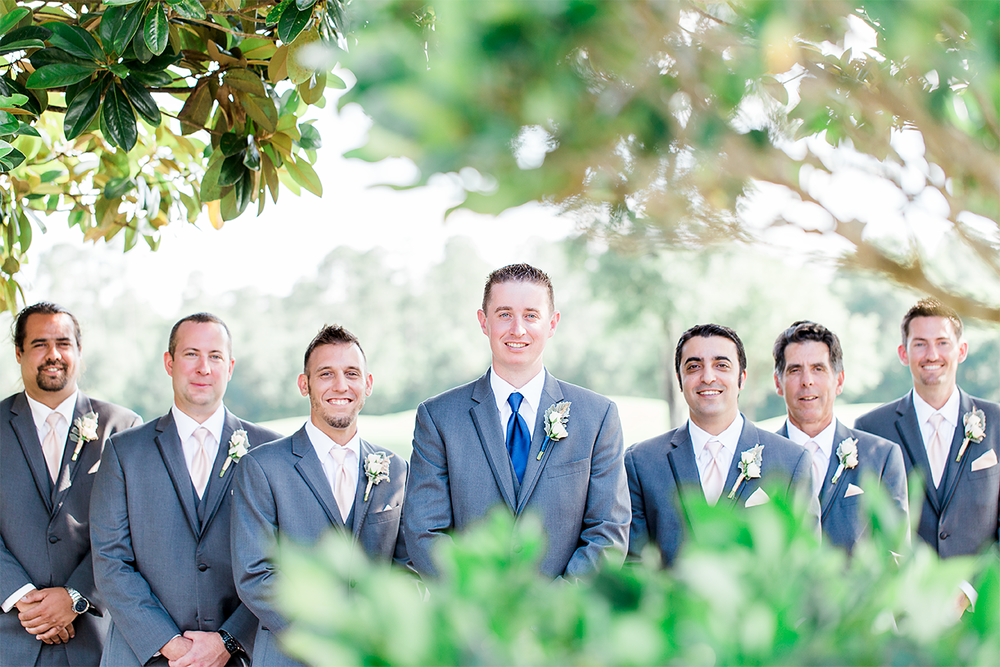 Groom and groomsmen | wedding photography ideas