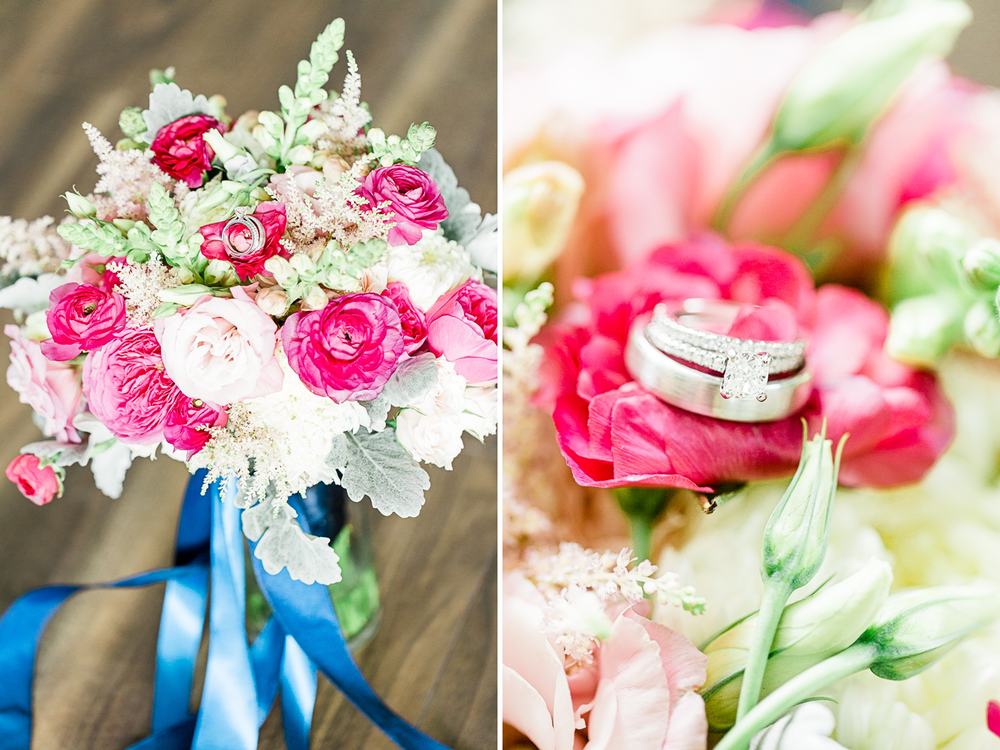 Wedding flowers by Happily ever afer floral and wedding rings