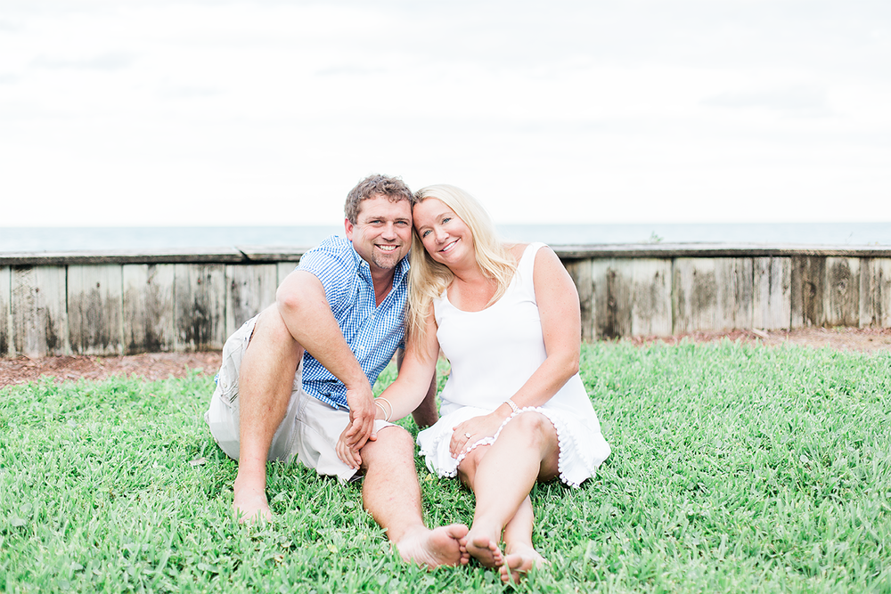 Couple photos in the beach club in Ponte Vedra beach