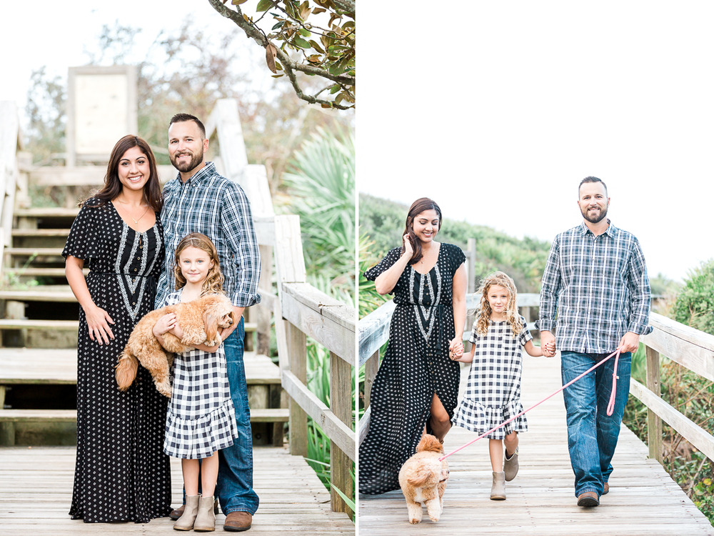 Engagement and family photos in Jacksonville FL