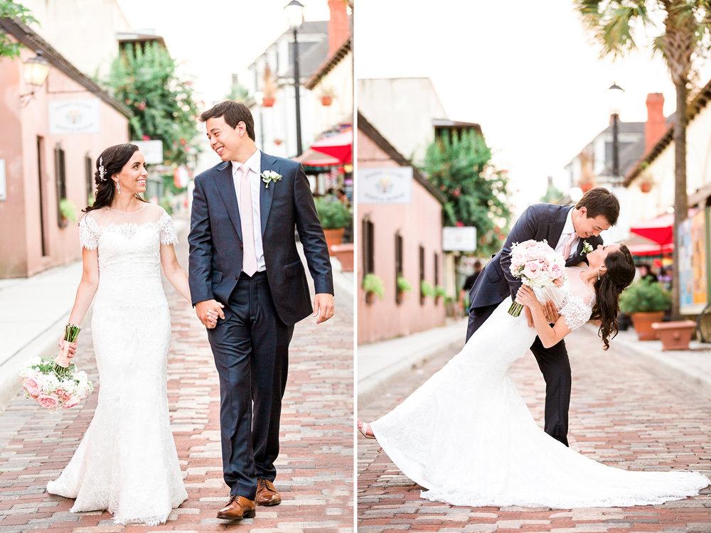 Newlyweds in St.Augustine, FL